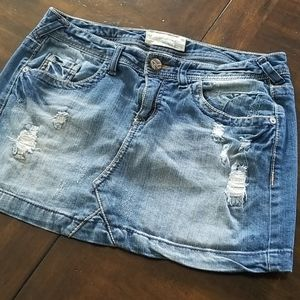 Maurices Jean skirt size 5/6
